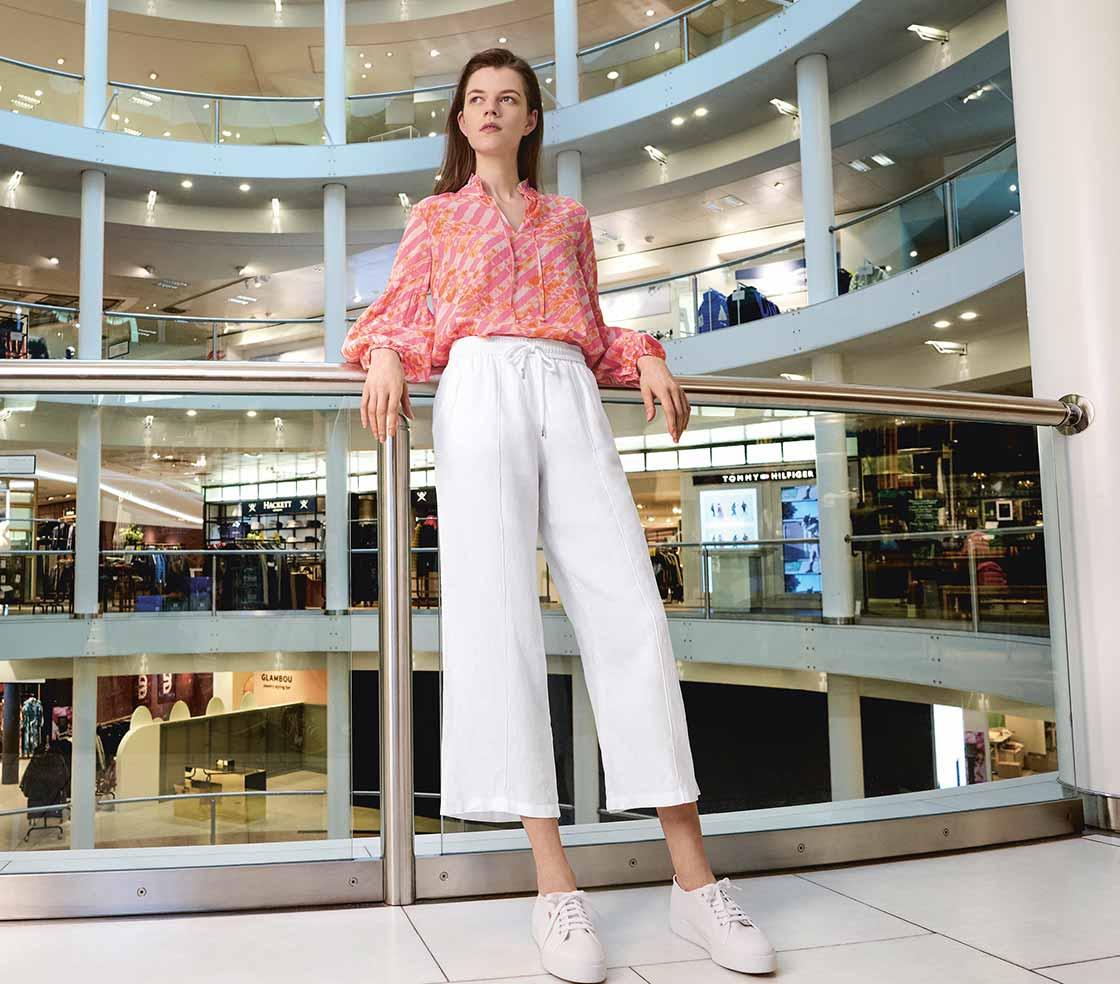 Weite Hosen: Lässig und elegant im Sommer