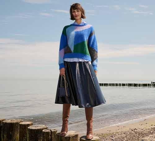Ausgestellte Röcke