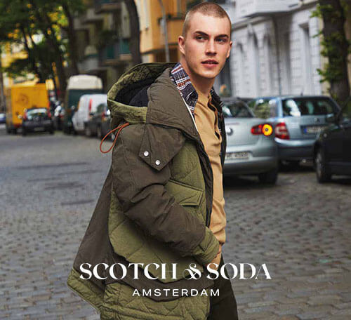 Zur Marke Scotch & Soda